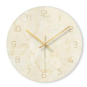 """Sieninis laikrodis """"Marmurinis stilius 6"""" (29 cm)"""