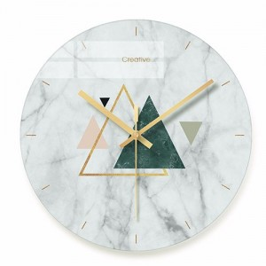 """Sieninis laikrodis """"Marmurinis stilius 7"""" (29 cm)"""