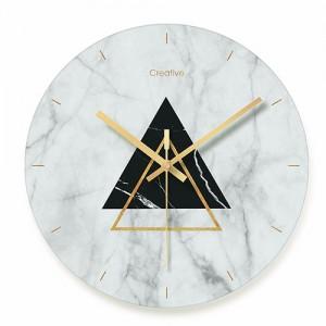 """Sieninis laikrodis """"Marmurinis stilius 8"""" (29 cm)"""