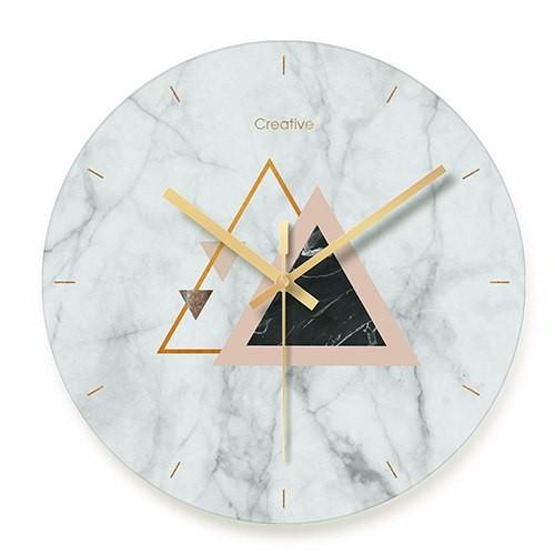 """Sieninis laikrodis """"Marmurinis stilius 9"""" (29 cm)"""