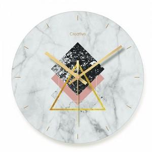 """Sieninis laikrodis """"Marmurinis stilius 10"""" (29 cm)"""