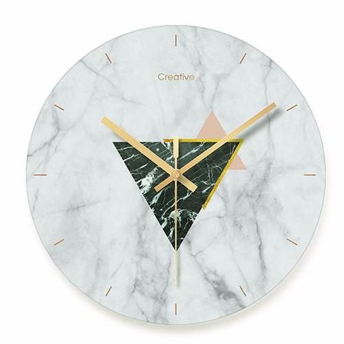 """Sieninis laikrodis """"Marmurinis stilius 11"""" (29 cm)"""