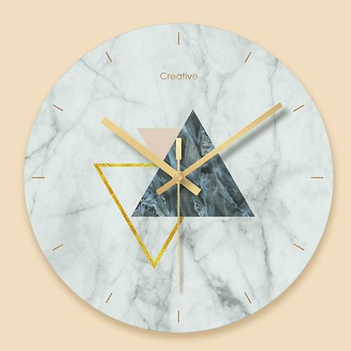 """Sieninis laikrodis """"Marmurinis stilius 12"""" (29 cm)"""