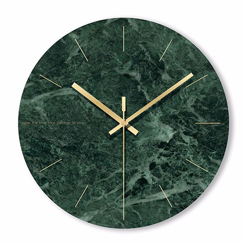 """Sieninis laikrodis """"Marmurinis stilius 16"""" (29 cm)"""