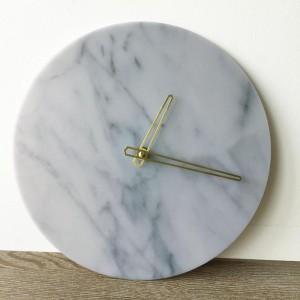 """Sieninis laikrodis """"Marmurinis stilius 31"""" (28 cm)"""