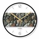 """Sieninis laikrodis """"Moderniausias stilius 12"""" (30 cm)"""