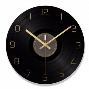 """Sieninis laikrodis """"Plokštelė 9"""" (30 cm)"""