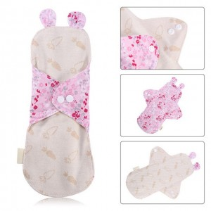"""Daugkartinio naudojimo higieniniai įklotai """"Organic Cotton 5"""" (25 cm)"""