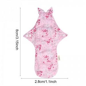"""Daugkartinio naudojimo higieniniai įklotai """"Organic Cotton 9"""" (25 cm)"""