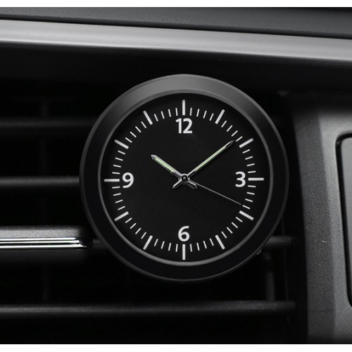 """Laikrodis automobiliui """"Juodoji elegancija"""""""