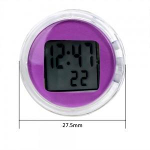 """Laikrodis automobiliui """"Violetinis stilius"""""""