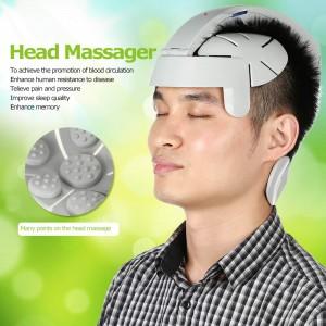 """Elektroninis galvos masažuoklis """"Ramybės oazė"""" (antistresinis, akupunktūrinis, vibruojantis)"""