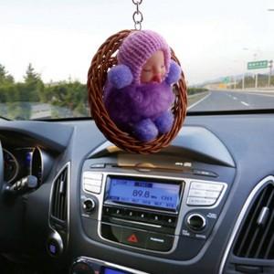 """Lėlytė automobiliui """"Miegantis bambliukas 3"""""""