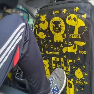 """Automobilio sėdynės apsauga vaikui """"Patogiau 11"""" (2 vnt)"""