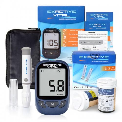 """Elektroninė gliukozės kiekio kraujyje stebėsenos priemonė """"Budrumas"""" (+50 vnt. testinių juostelių)"""