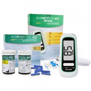 """Elektroninė gliukozės kiekio kraujyje stebėsenos priemonė """"Budrumas 2"""" (+50 vnt. testinių juostelių)"""