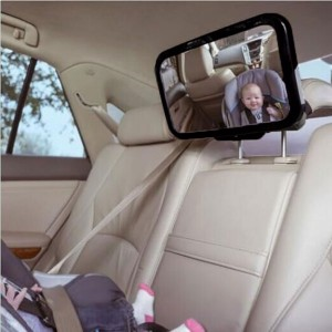 """Veidrodėlis automobiliui """"Tikras smagumėlis 11"""" (360° reguliuojamas, 25 cm)"""