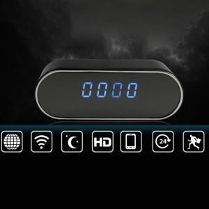 """Laikrodis su slapta kamera """"Aukščiausia klasė"""" (Wifi, IP)"""
