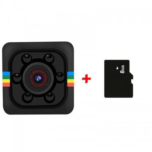 "Mini kamera ""Budrusis seklys 11"" (1080P, naktinio matymo)"