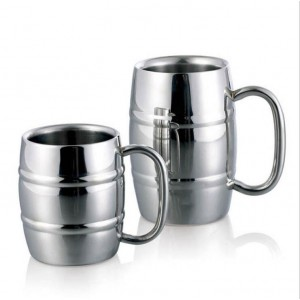 """Plieninis puodelis """"Aukščiausia klasė 3"""" (350 ml)"""