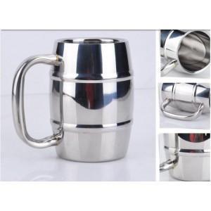"""Plieninis puodelis """"Aukščiausia klasė 4"""" (550 ml)"""