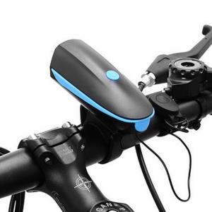 """Įkraunamas aukštos kokybės dviračio prožektorius """"Tebūnie šviesa"""" (labai šviesus: 250LM, pakraunamas, patogus, nedidelis)"""