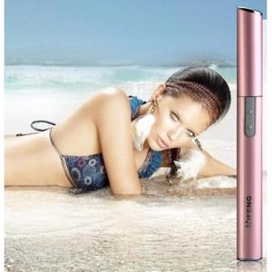 """Elektronis depiliatorius """"Rožinis tobulumas"""" (aukštos kokybės, veidui, pažastims ir bikini zonai, keičiamos galvutės)"""