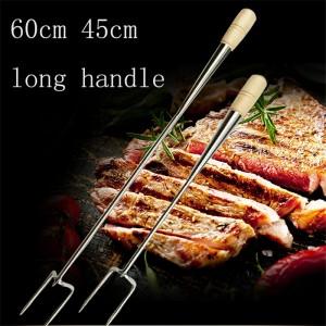 """Plieninė šakutė griliui """"Tikras meistras"""" (45 cm)"""
