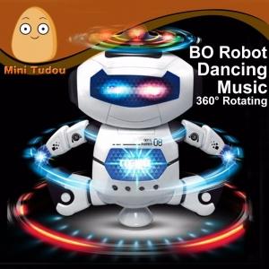 """Elektronis šokantis robotas """"Robotas šokėjas"""" (vaiko lavinimas, aukštos kokybės, išmanusis)"""