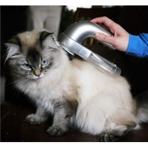 """Elektroninis siurblys kailio valytuvas """"Katinas švaruolis"""" (aukštos kokybės, katinams, šunims ir kitiems kailiniams gyvūnams)"""
