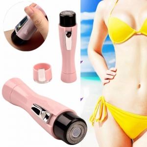 """Elektronis mini depiliatorius """"Rožinė katytė"""" (aukštos kokybės, nešiojamas, veidui, pažastims ir bikini zonai)"""