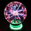 """Eletroninis plazmos rutulys """"Nakties magija"""" (namų jaukumui, tinka vaikų kambariui)"""
