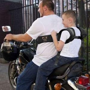 """Saugos diržas vaikui """"Meškiukas"""" (motociklui, motoroleriui)"""