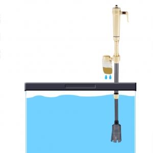 """Elektroninis akvariumo valytuvas """"Povandeninis pasaulis"""" (žvyrio valytuvas, vandens filtras)"""