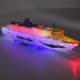 """Eletroninis robotas žaislas """"Vandenyno laineris"""" (vaikų ugdymui, šviesos muzika, aukštos kokybės)"""