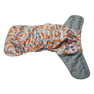 Plaunami kūdikių vystyklai-sauskelnės (4 vnt., medvilnė, bambuko pluošto, 5-12 kg, 0-12 mėn.)