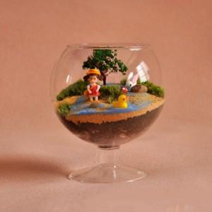 """Stiklinė vaza """"Puikioji stiklinė"""""""