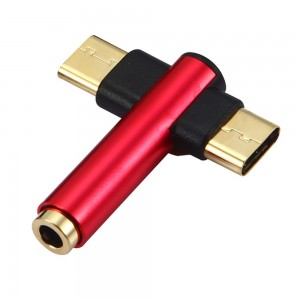 "Type-C jungties keitiklis ""Minima Pro Extended 2"" (AUX, USB)"
