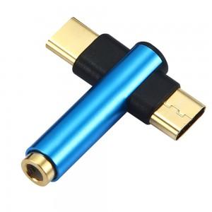 "Type-C jungties keitiklis ""Minima Pro Extended 3"" (AUX, USB)"
