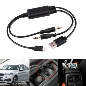 """AUX, USB laidas """"Aukščiausia klasė"""" (BMW)"""