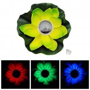 """Plaukiojanti gėlė su saulės baterija baseinui """"Saulės puriena"""""""