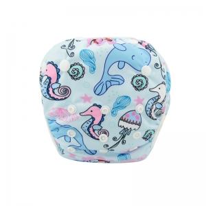 """Plaunamos sauskelnės """"Vandenų pasaulis. Delfinai ir arkliukai"""""""