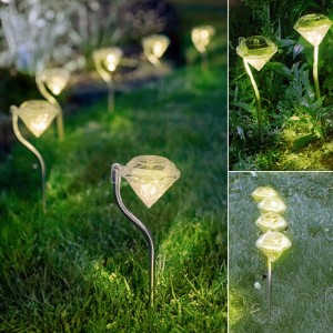 """Saulės energija įkraunamas šviestuvas """"Nakties deimantas 2"""""""