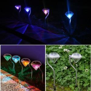 """Saulės energija įkraunamas šviestuvas """"Nakties deimantas 3"""""""