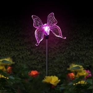 """Saulės energija įkraunamas šviestuvas """"Naktinis drugelis"""""""