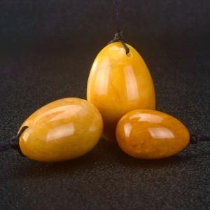 """Geltonojo jado kiaušiniai """"IntiMate Trio"""""""