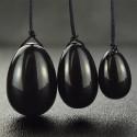 """Juodojo opalito masažuoklių rinkinys """"IntiMate Trio Plus"""""""