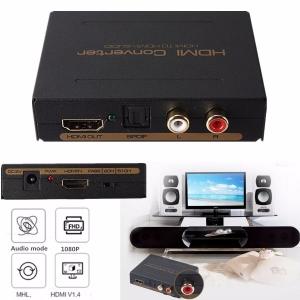 HDMI į HDMI ir SPDIF + RCA audio keitiklis