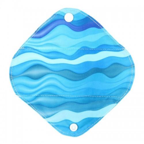 """Daugkartinio naudojimo higieniniai įklotai """"Vandenyno banga"""" (5 vnt.)"""