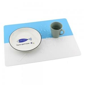 """Vaikiškas silikoninis pietų padėkliukas """"Aukščiausia klasė 3"""" (40 x 30 cm)"""